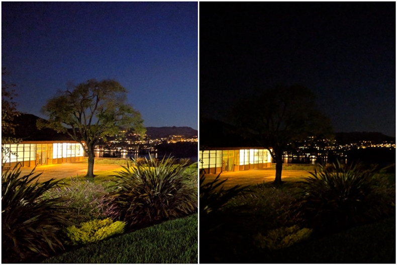 Pixel night sight