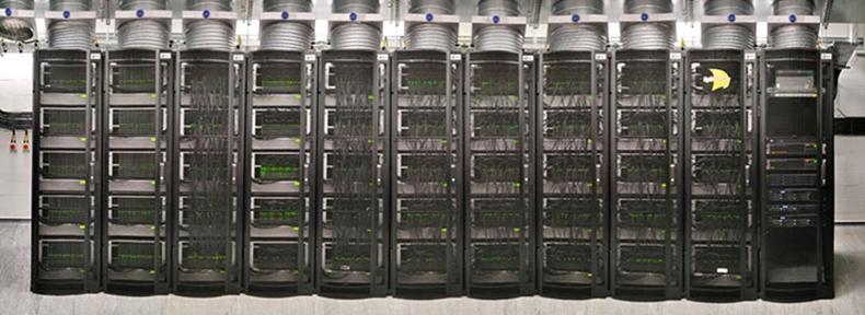 SpiNNaker süper bilgisayar insan beyni