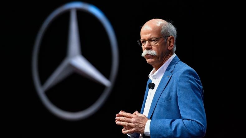 Daimler Benz CEO'su Dieter Zetsche
