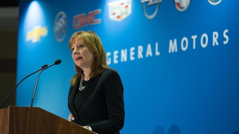 General Motors CEO'su Mary Barra