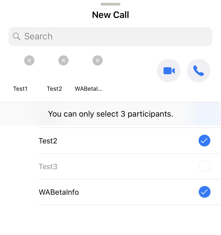 whatsapp arama özelliği