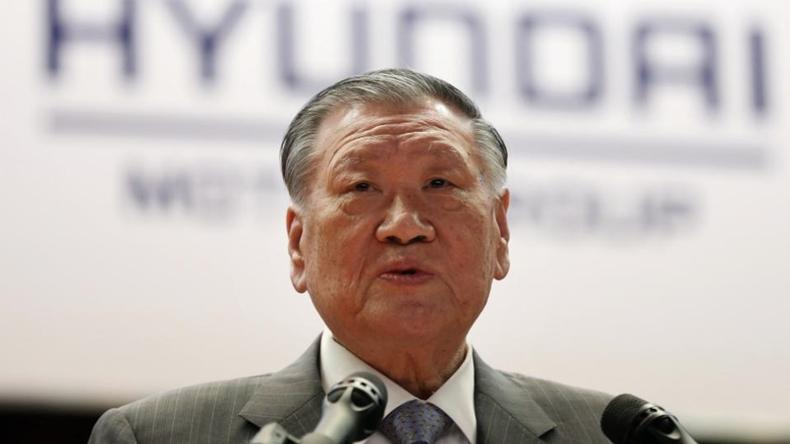 Hyundai CEO'su Chung Mong-koo