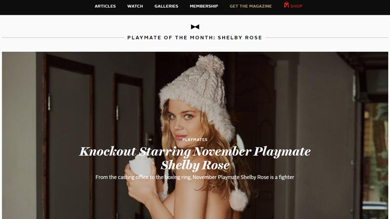 playboy web sitesi