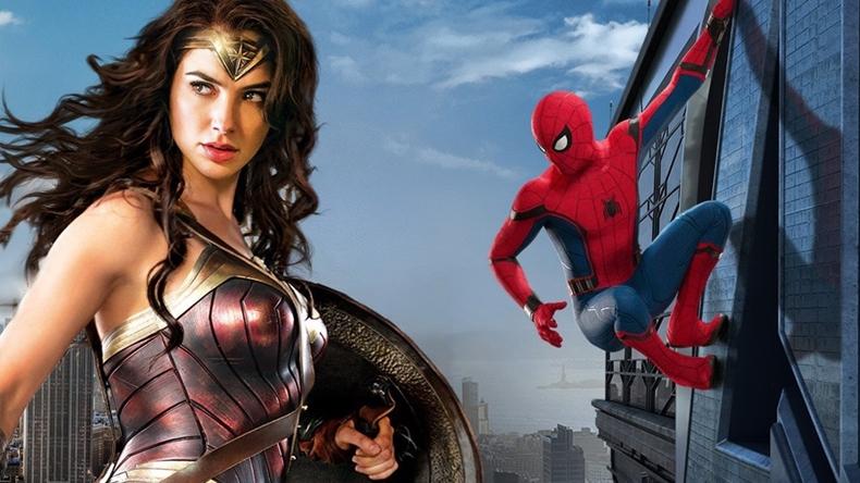 wonder woman spider-man