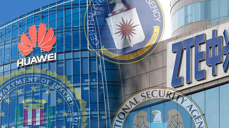 ABD Güvenlik Yasağı Huawei ZTE 2