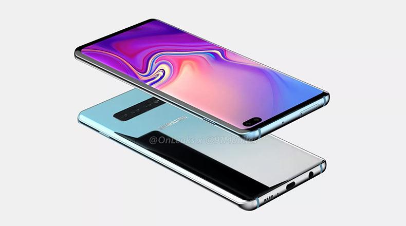 Samsung Galaxy S10 Tasarım Sızıntı 2