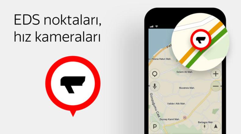Yandex Navigasyon Hız Kamerası EDS 2