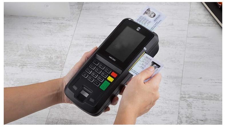 çipli kimlik kartı doğrulama cihazı
