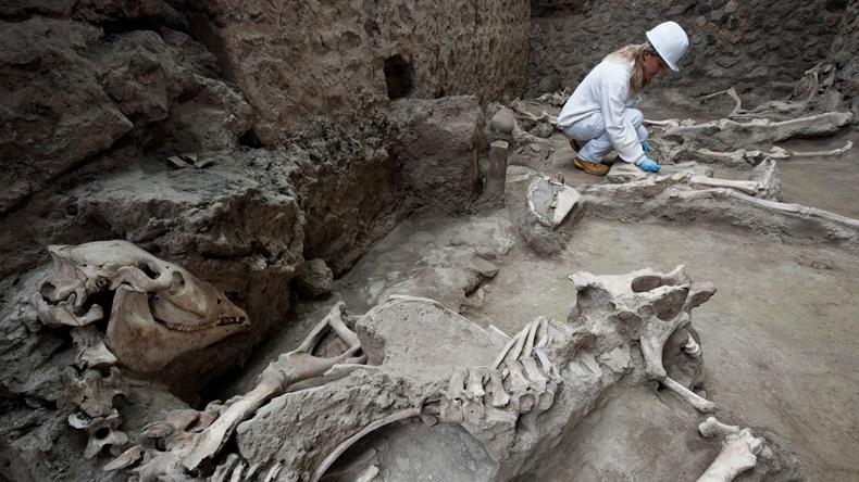 italya antik kent kazı