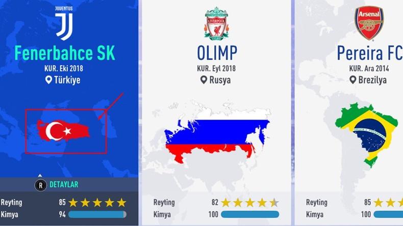 türkiye hatası FIFA 18