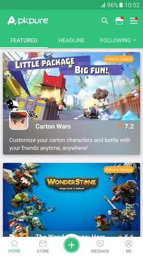 APKPure İndir - Ücretsiz Android Oyun ve Uygulama APK İndirme