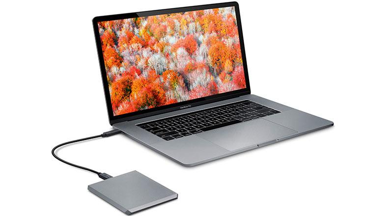 LaCie Taşınabilir Sabit Disk SSD 2