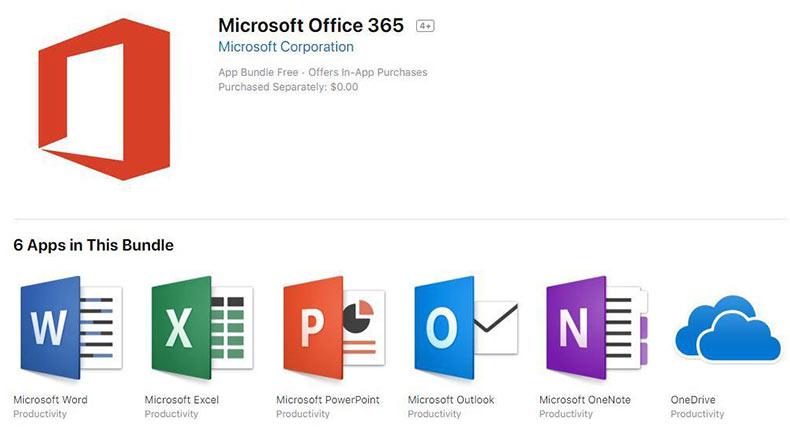 Mac App Store Microsoft Office 2