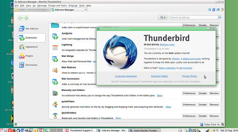 Mozilla Thunderbird Guncelleme 2