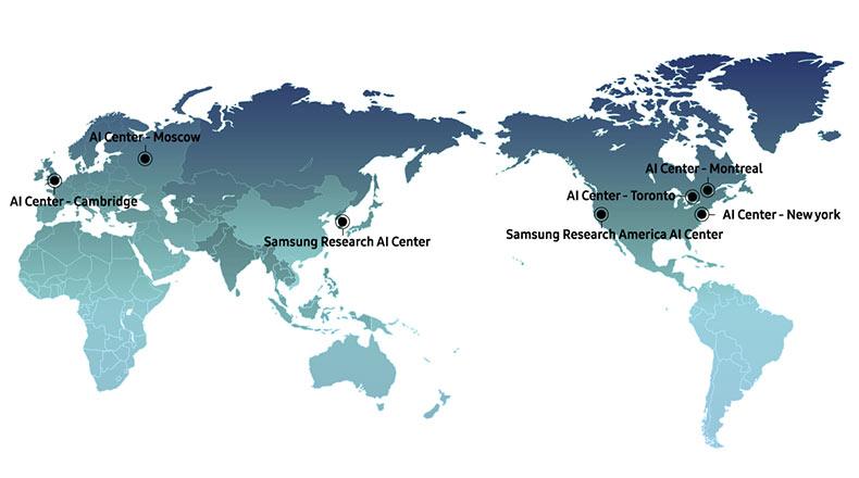 Samsung Yapay Zeka Merkezleri 2