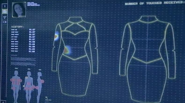 Tacize Karşı Akıllı Elbise 2
