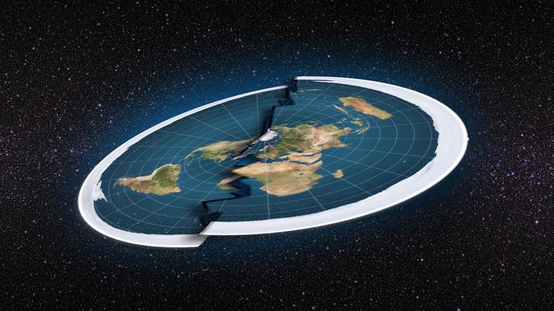 düz dünya gemi