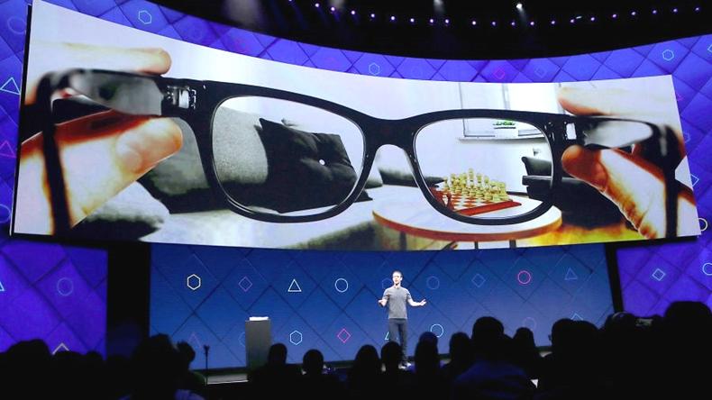 facebook artırılmış gerçeklik gözlüğü