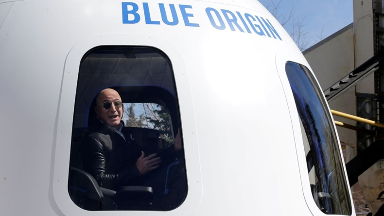 jeff bezos blue origin uzay
