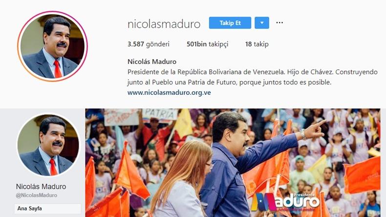 maduro Instagram Venezuela
