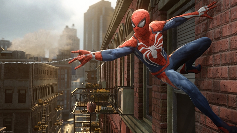 spiderman marvel's ps4