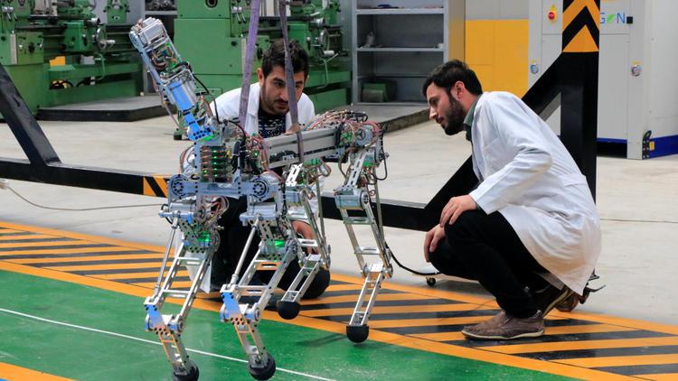 Yerli Robotlar Dünya Standartlarında Üretilecek