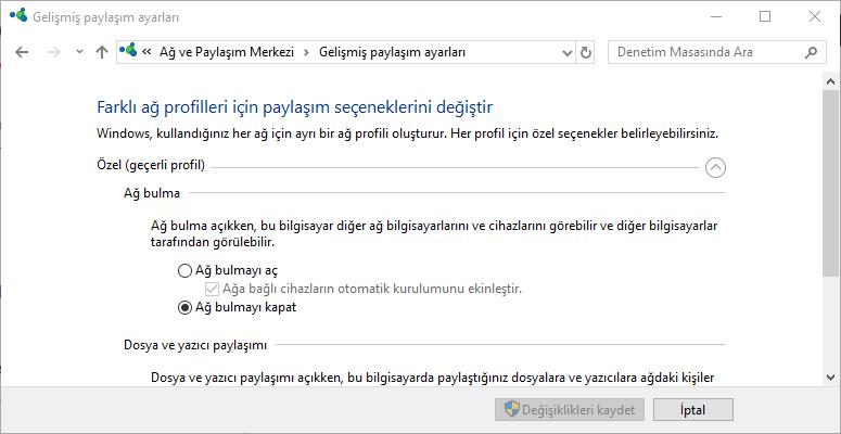 Windows svchost işlemci kullanımı sorunu