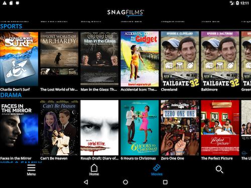 Snagfilms Watch Free Movies Indir Android Için ücretsiz Film