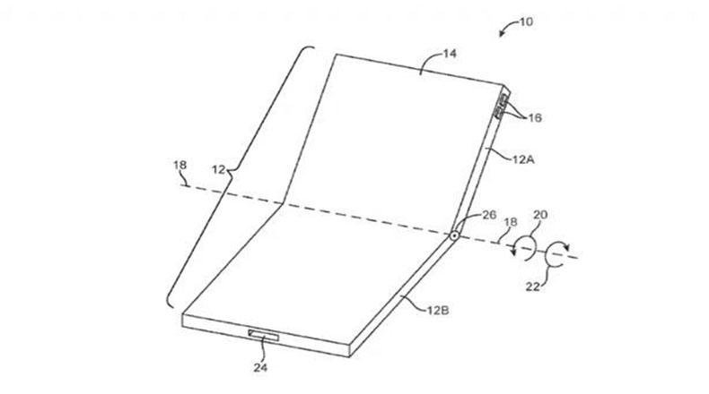 Apple Katlanabilir Telefon Konsepti 2
