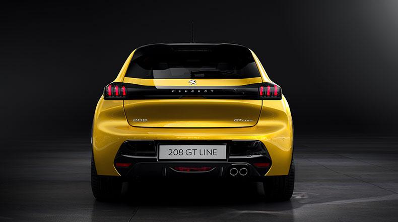 Peugeot 208 GT-Line Arka