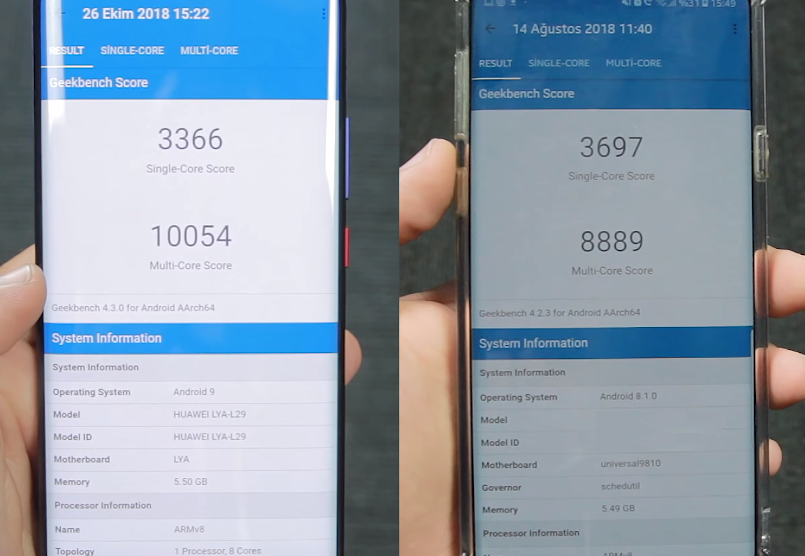 mate 20 pro geekbench