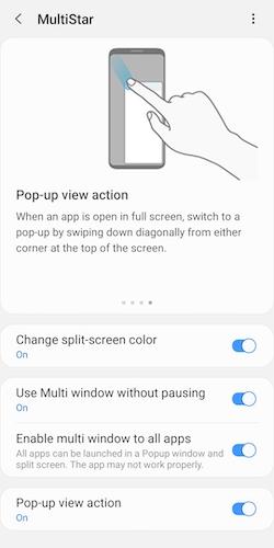 Samsung MultiStar APK İndir - Android Çoklu Pencere Uygulaması