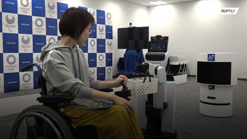 tokyo robot olimpiyatlar 2