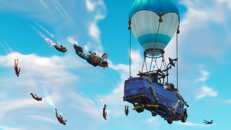 Battle Bus Fortnite