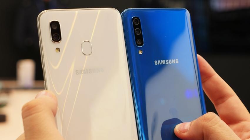Samsung Galaxy A50 ve Galaxy A30'un Türkiye Fiyatları Açıklandı