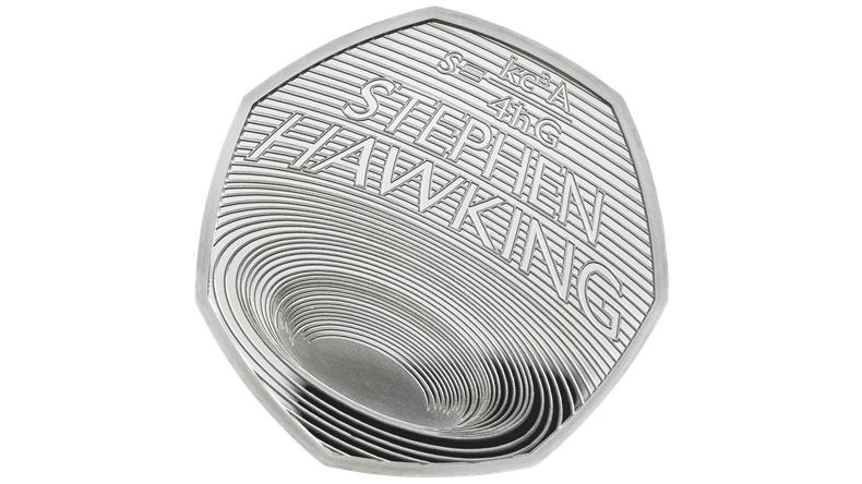 stephen hawking madeni para basıldı