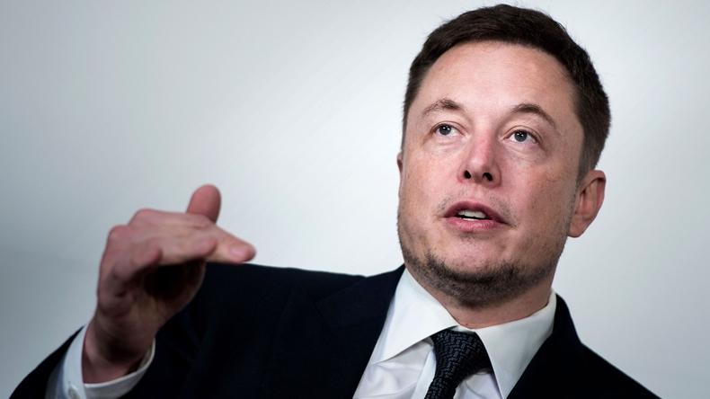 Tesla CEO Elon Musk SpaceX
