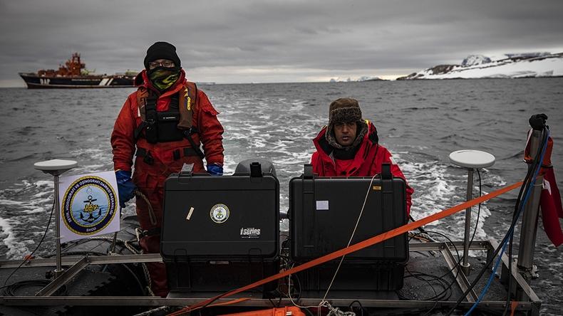 türk bilim üssü antarktika harita