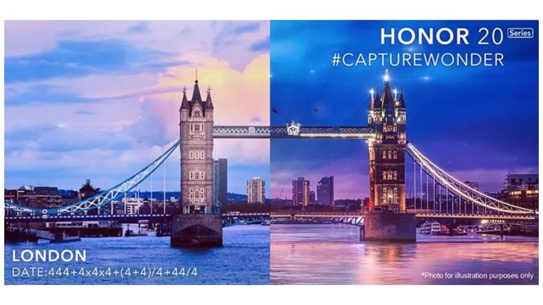 Honor 20 Londra 21 Mayıs