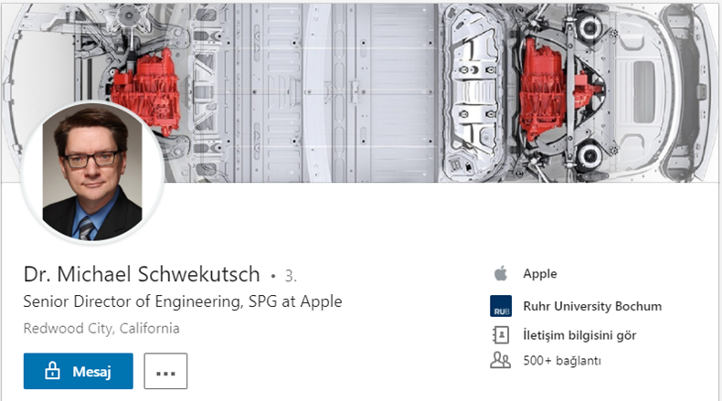 Michael Schwekutsch Apple Tesla