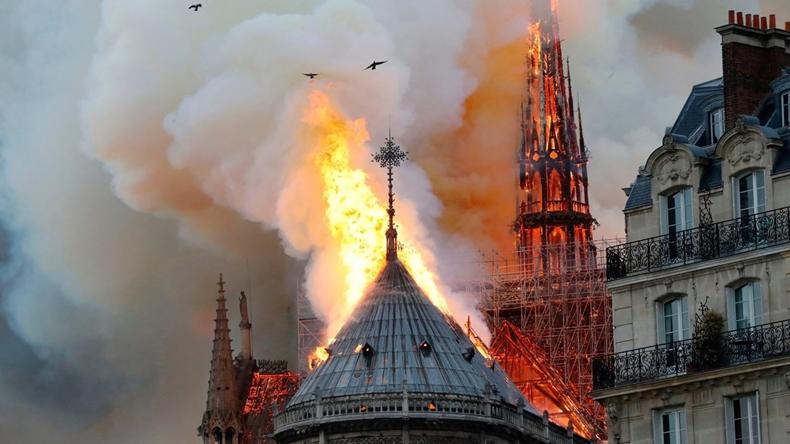 Notre Dame yangın