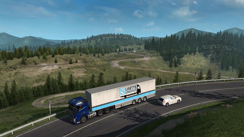 Euro Truck Simulator 2 - Road to the Black Sea İndir - ETS 2