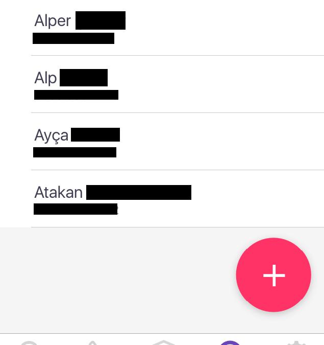 Hiya Uygulaması Blok Listesi