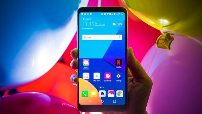 LG G6 Ekranı