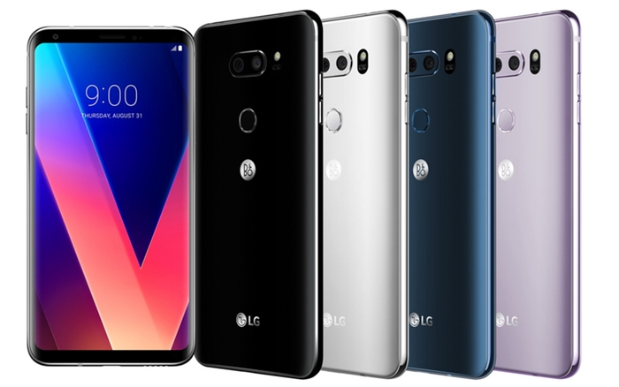 LG V30 Ekranı