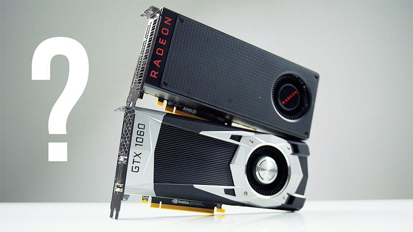 Nvidia GTX 1060 vs Radeon RX 580