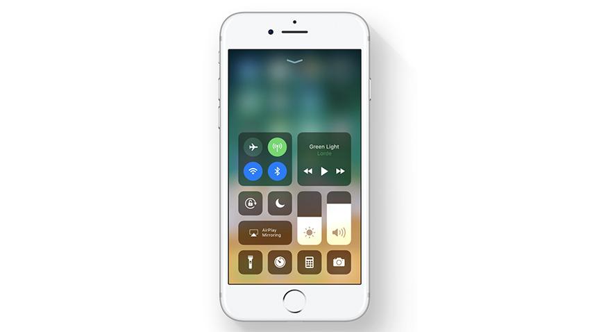 iOS 11 Denetim Merkezi
