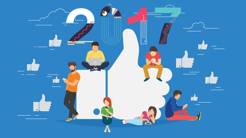 """Facebook, 2017'nin """"EN""""lerini Paylaştı"""