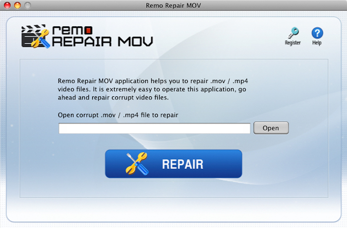 Remo Repair MOV - Mac