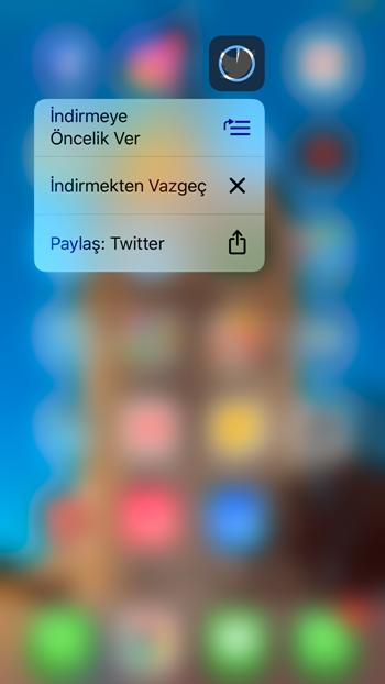 iphone uygulama indirme önceliği